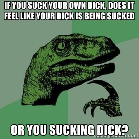 How does it feel to suck dick