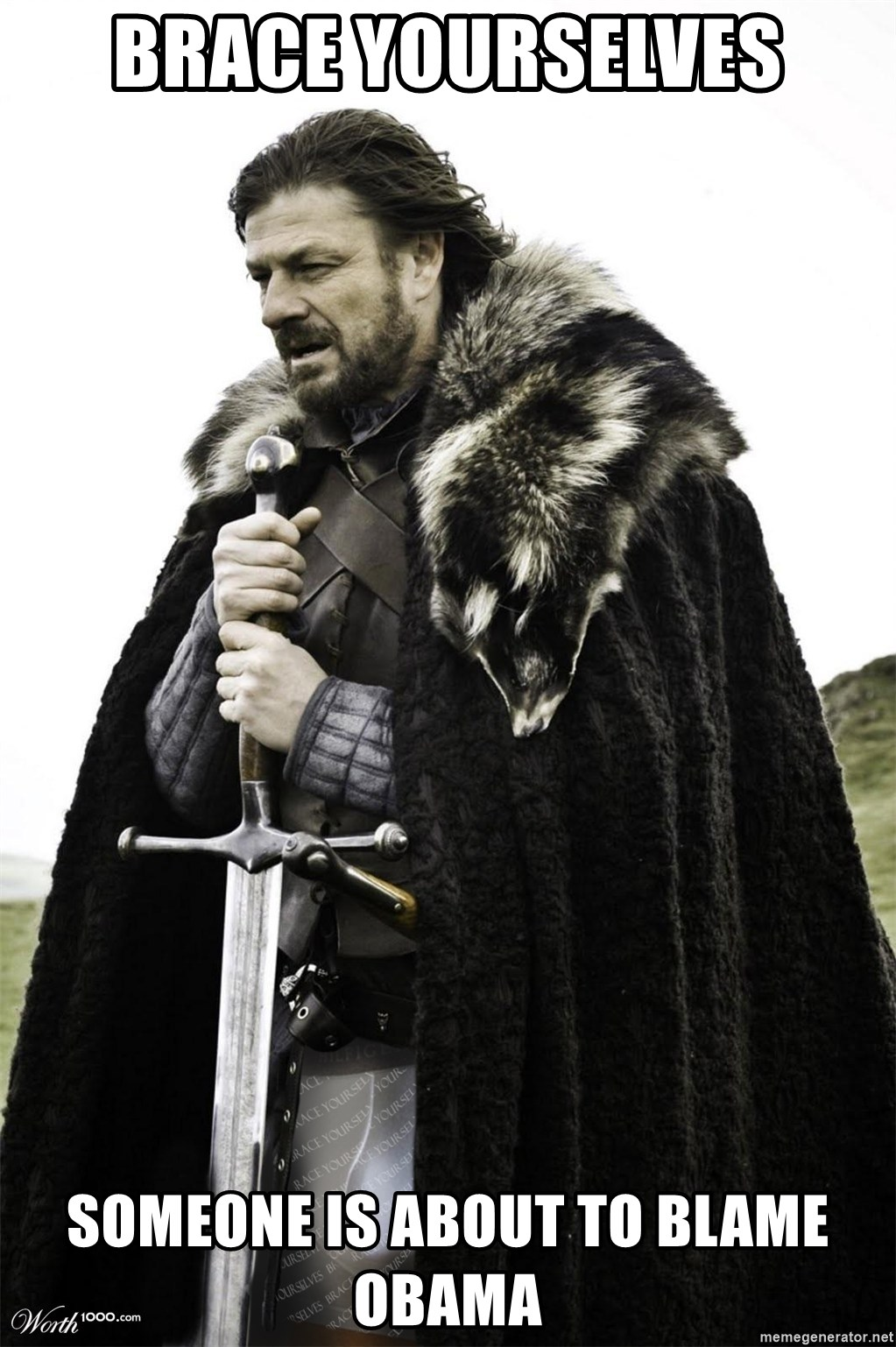 Brace Yourselves.  John is turning 21. - BRACE YOURSELVES SOMEONE IS ABOUT TO BLAME OBAMA