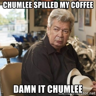 old man pawn stars - chumlee spilled my coffee damn it chumlee