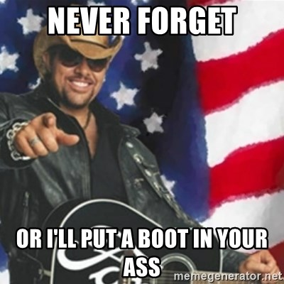 Put a boot in your ass