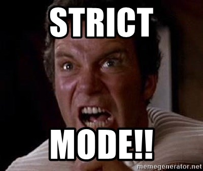 Khan - STRICT MODE!!