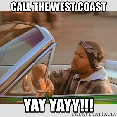 Call The West Coast Yay Yayy Ice Cube Good Day Meme Generator The drawing may be purchased as wall art, home decor, apparel, phone cases, greeting cards, and more. call the west coast yay yayy ice