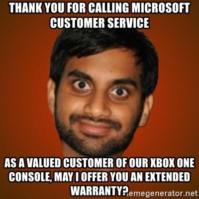 thank you for calling microsoft customer service as a valued