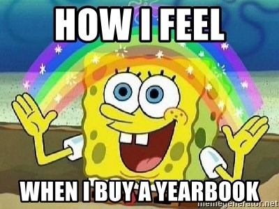 Imagination - HOW I FEEL WHEN I BUY A YEARBOOK