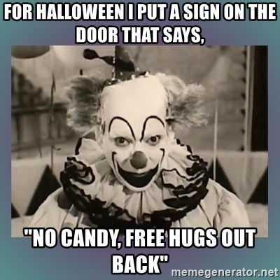 64865756 for halloween i put a sign on the door that says, \