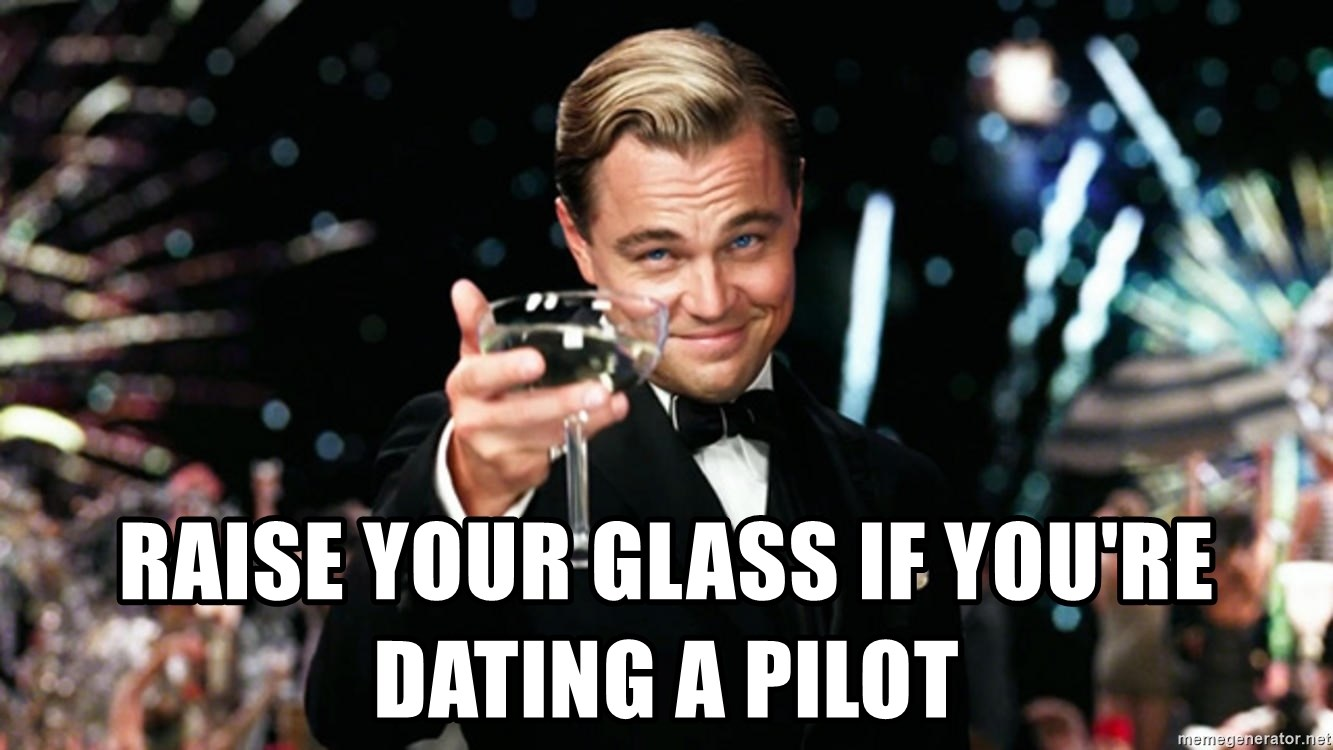 dating en pilot meme