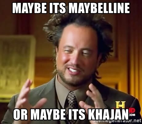 Giorgio A Tsoukalos Hair - Maybe its Maybelline Or maybe its Khajan
