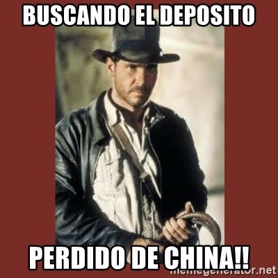 Indiana Jones - Buscando el deposito Perdido de China!!