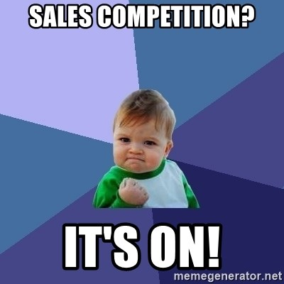 Sales Competition Meme