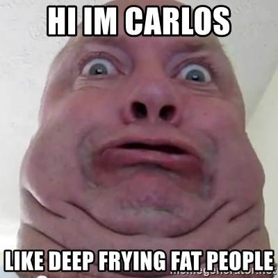 Really fat ugly people