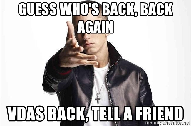 eminem exclusive - Guess Who's Back, Back Again VDas Back, Tell a Friend
