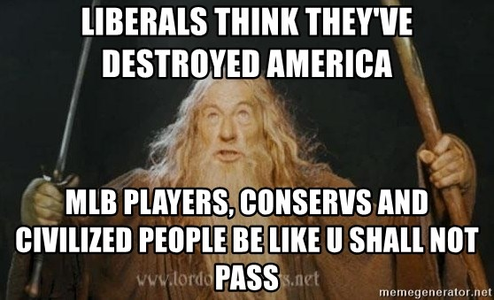 liberals think they ve destroyed america mlb players conservs and