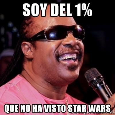 stevie wonder - soy del 1% que no ha visto star wars