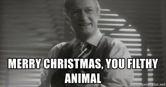 home alone johnny merry christmas you filthy animal - Merry Christmas You Filthy Animal