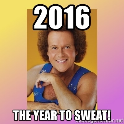 Richard Simmons - 2016 the year to sweat!