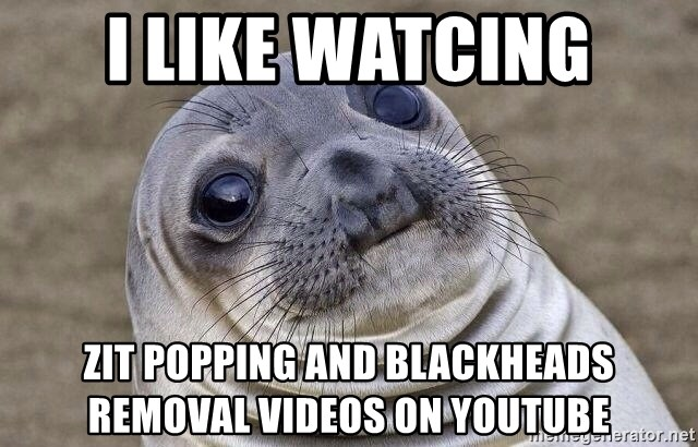 you tube videos pimple popping