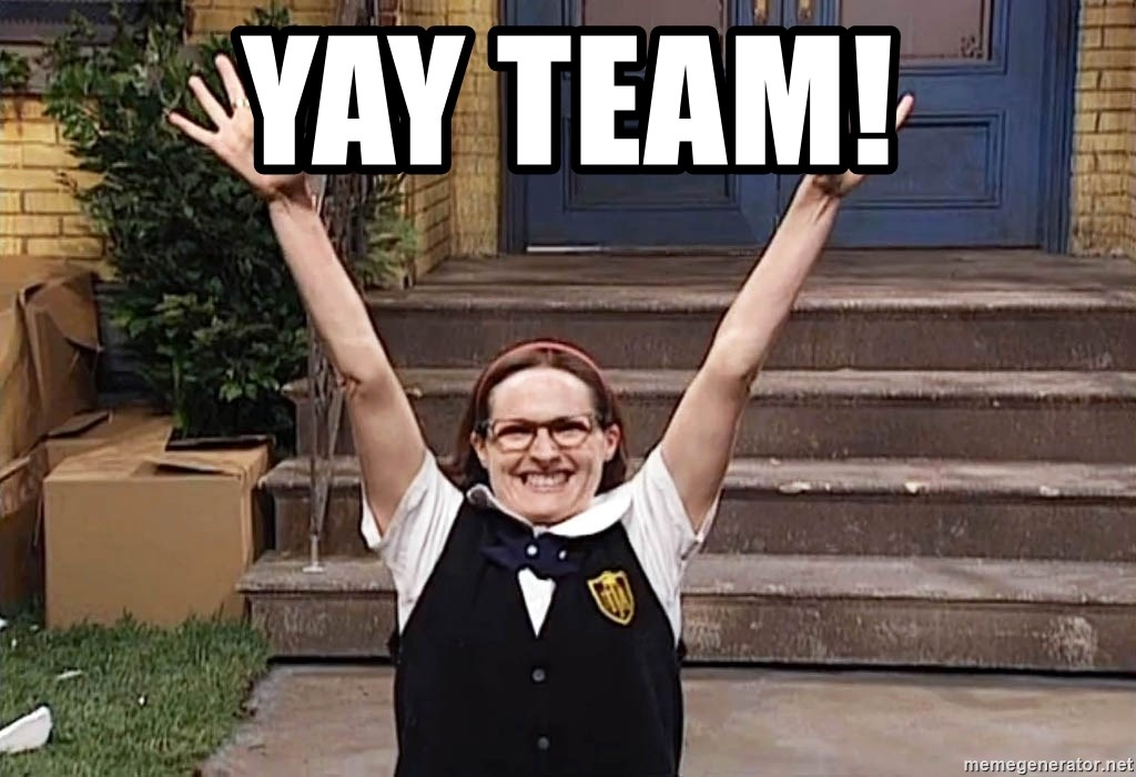 Mary Catherine Gallagher - Yay Team!