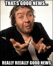 Rab C Nesbitt That S Good News Really Reeally