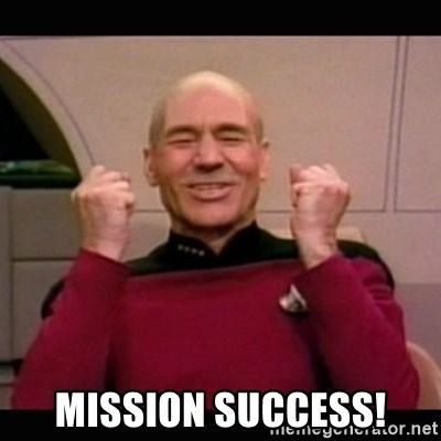 Mission Success Picard Yes Meme Generator