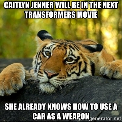 caitlyn jenner will be in the next transformers movie she