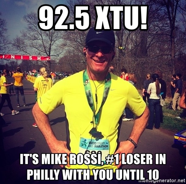 925 XTU Its Mike Rossi 1 Loser In Philly With You Until 10
