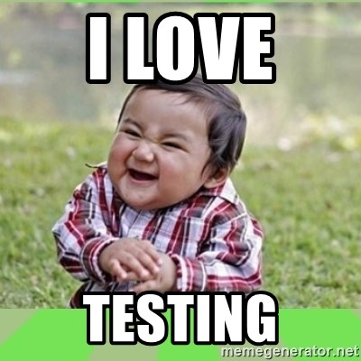 Image result for i love testing