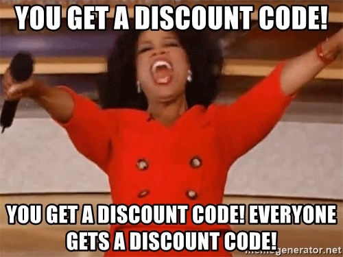 Image result for discount code memes
