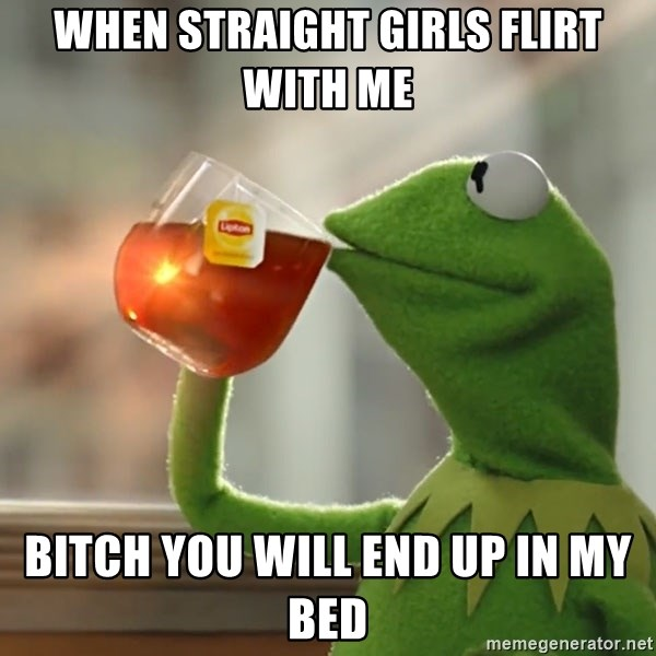 how to flirt with a straight girl