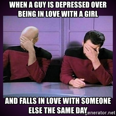 depressed over a guy