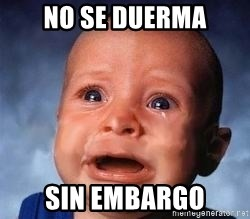 Very Sad Kid - no se duerma sin embargo