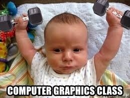Workout baby - Computer Graphics Class