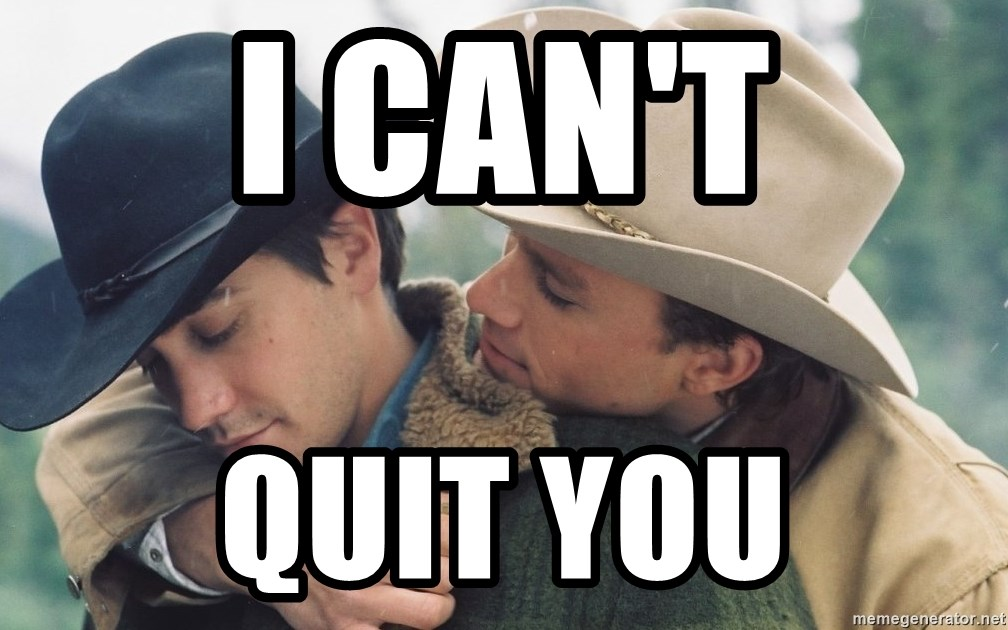 Brokeback Mountain - I CAN'T QUIT YOU