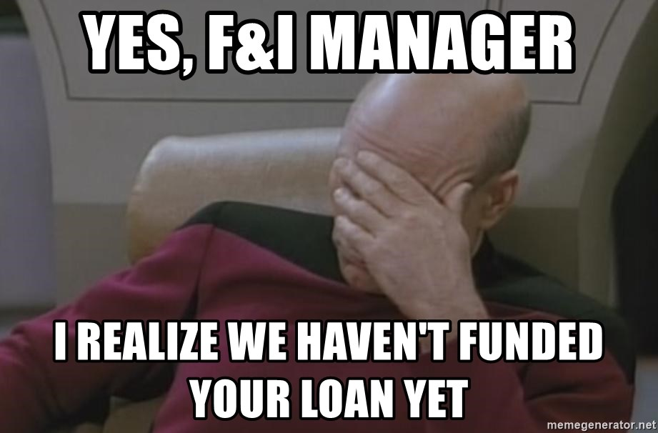Yes Fi Manager I Realize We Havent Funded Your Loan Yet Jean