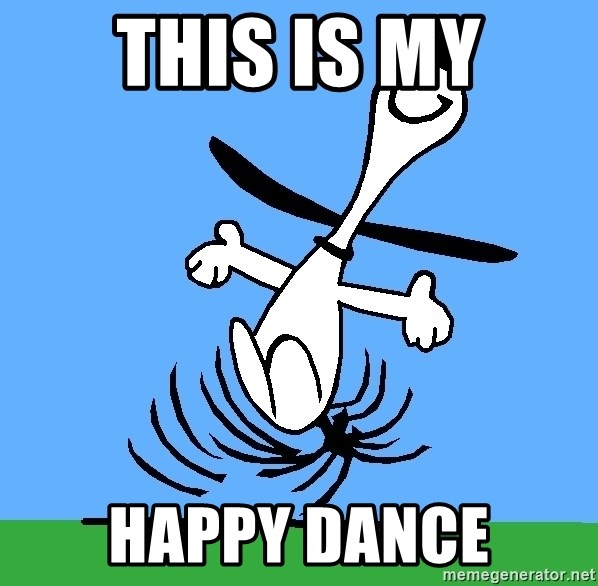My snoopy dance - This is My Happy Dance