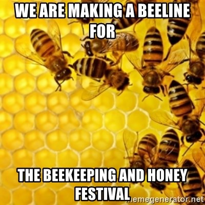 Honeybees - We are making a beeline for The Beekeeping and Honey Festival