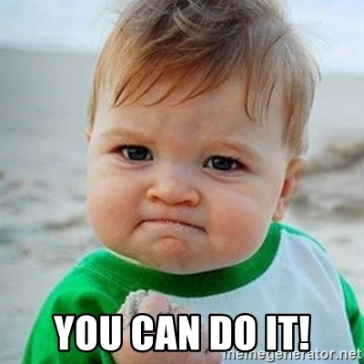 Victory Baby -  You can do it!