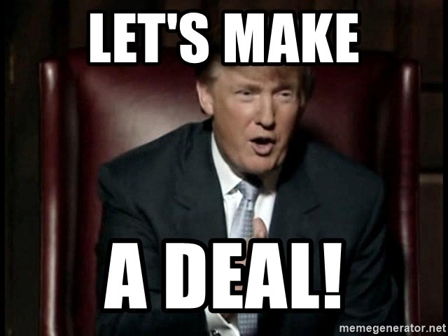 Donald Trump - Let's make a deal!