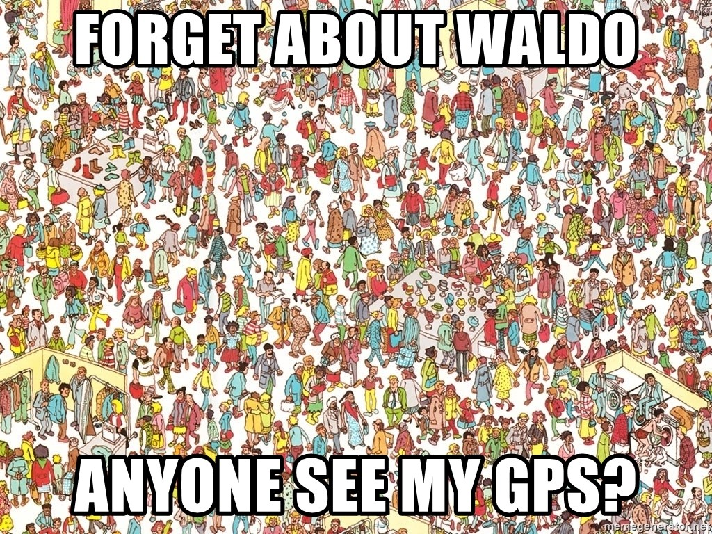 wheres waldo crowd - Forget about waldo anyone see my GPS?