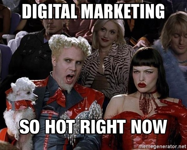 So hot right now - Zoolander 1 - Digital Marketing