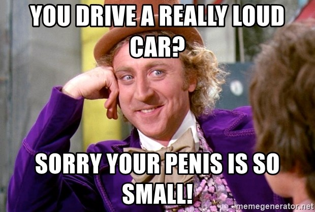 your penis is so small