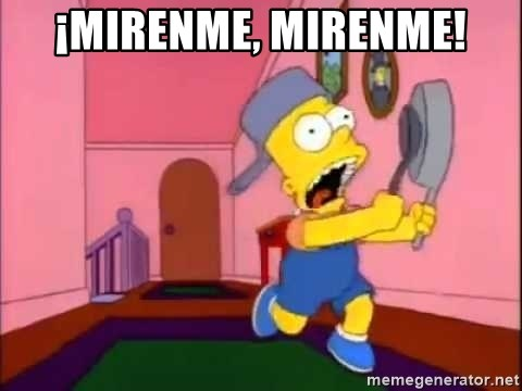 67494301 mirenme, mirenme! bart simpson attention meme generator
