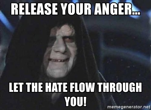 Image result for emperor releaSE YOUR ANGER