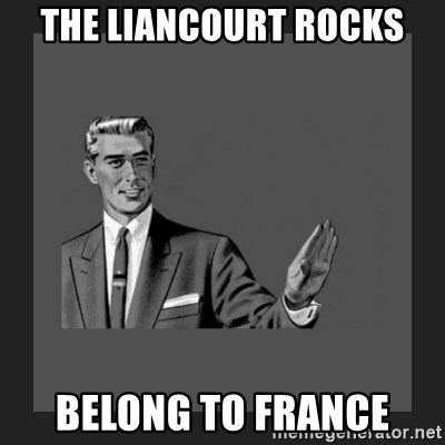 kill yourself guy blank - the liancourt rocks belong to france