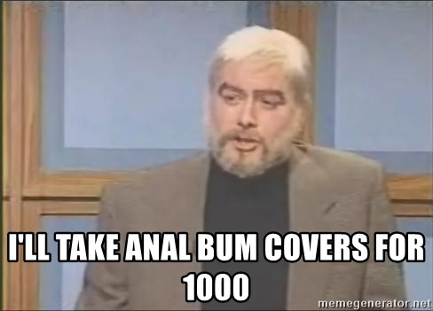 Anal bum covers