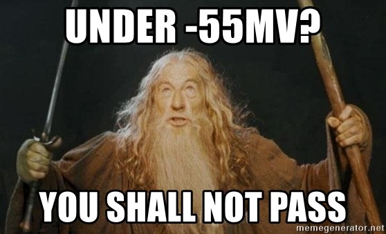 You shall not pass - under -55mv? you shall not pass