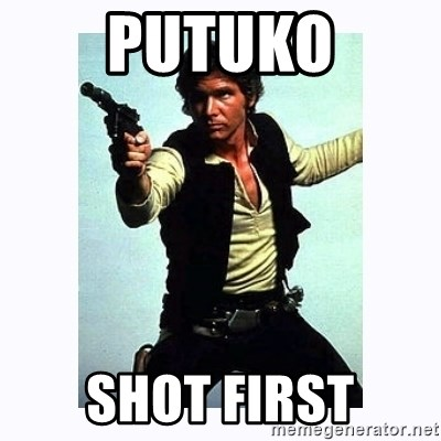 Han Solo - Putuko shot first