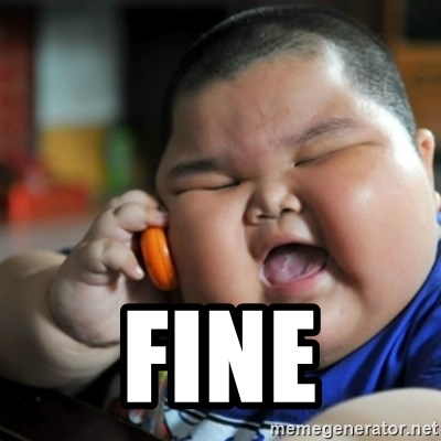 fat chinese kid -  Fine