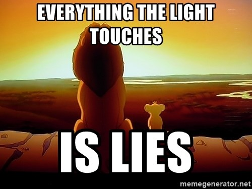 Lion King Meme Everything The Light Touches