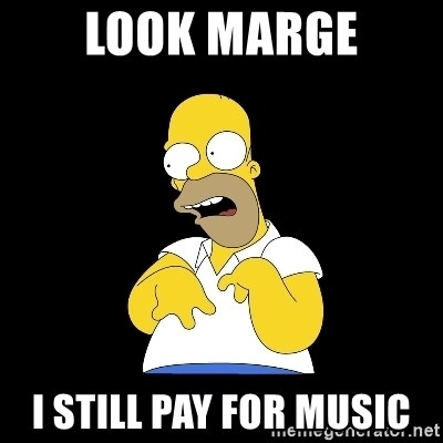 look-marge - look marge i still pay for music
