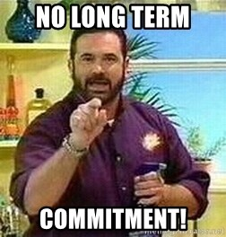 Badass Billy Mays - No long term  commitment!